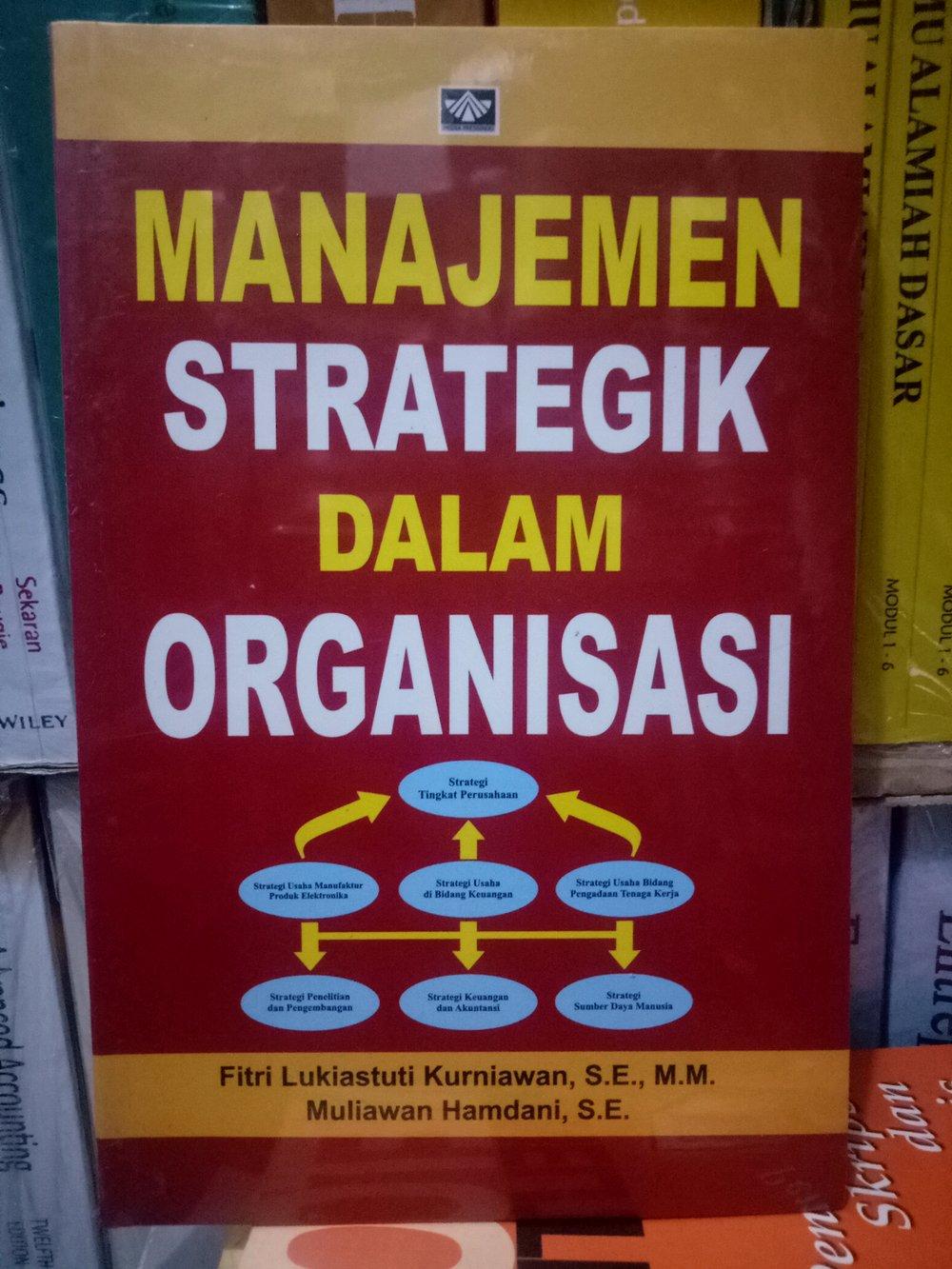 Manajemen strategik dalam organisasi