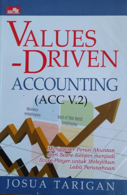 Values-driven accounting (ACC V.2) : menggeser peran akuntan dari score keeper menjadi score-player untuk melejitkan laba perusahaan