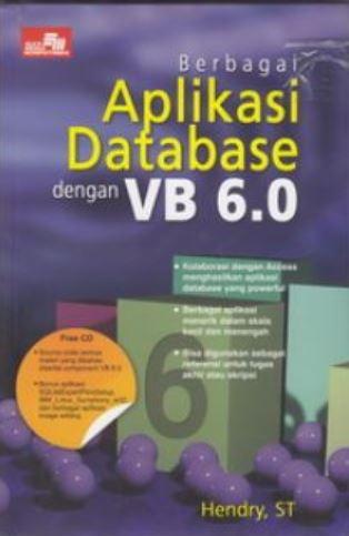 Berbagai aplikasi database dengan vb 6.0