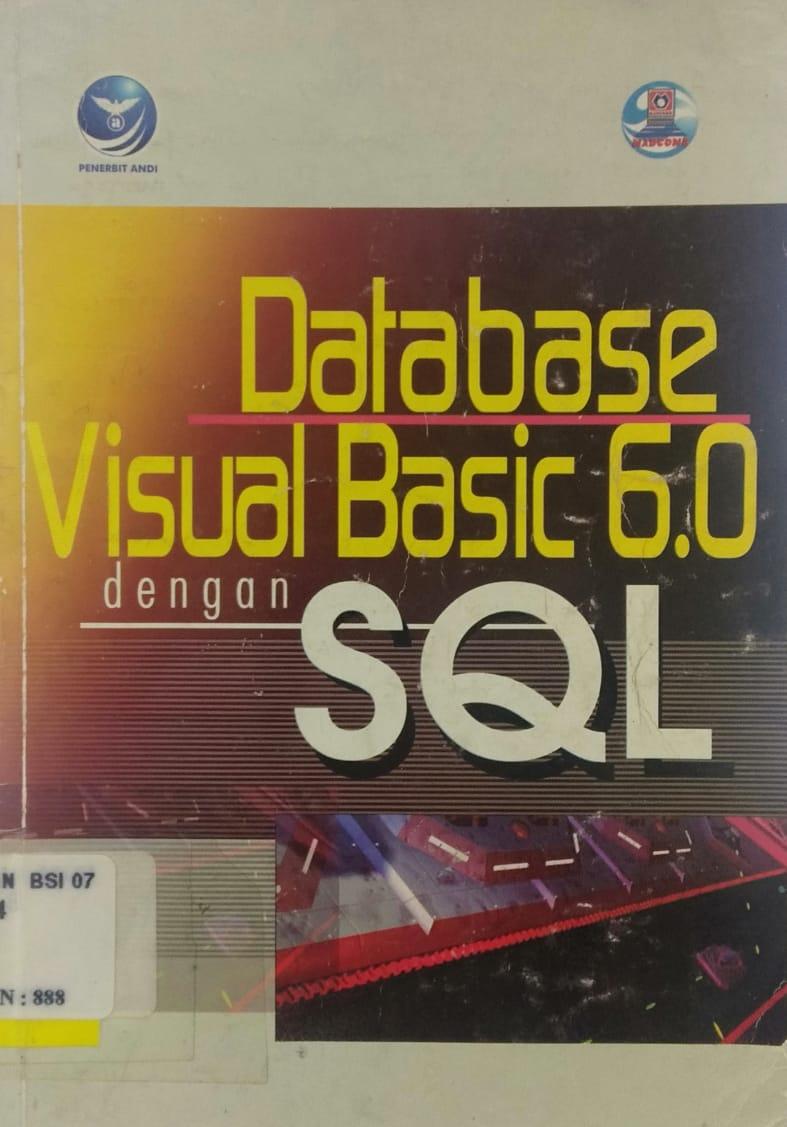 Database visual basic 6.0 dengan sql